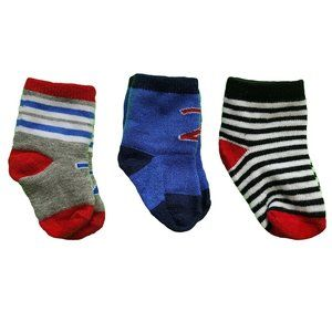 🍒3/$20🍒 Adorable Baby Socks - Lot of 3